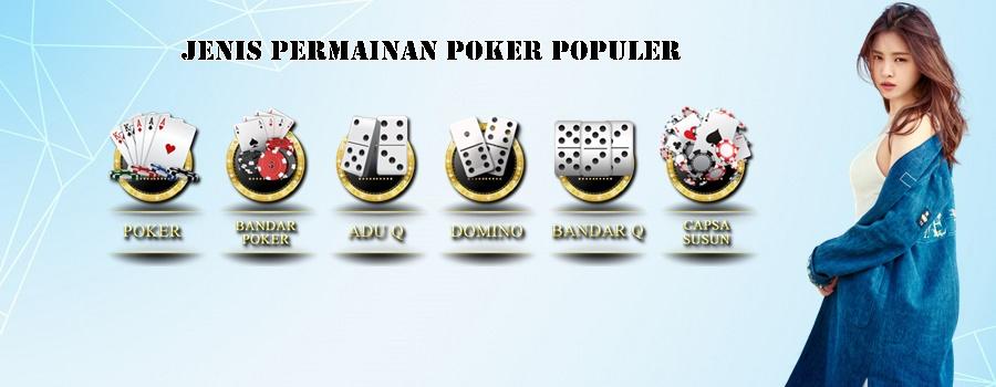 Jenis Permainan Poker Populer